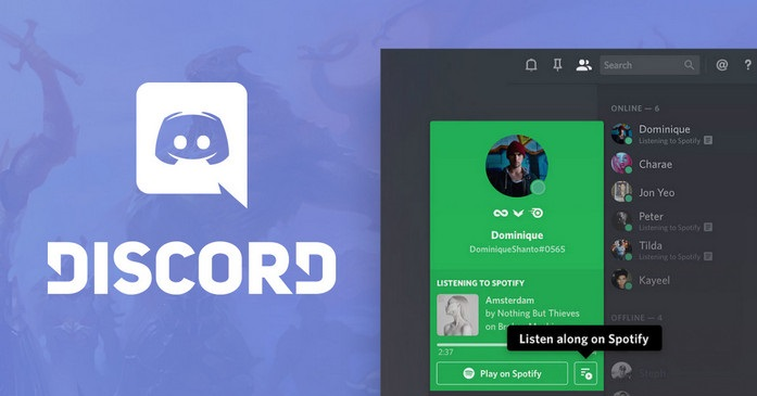 Connect Spotify with Discord