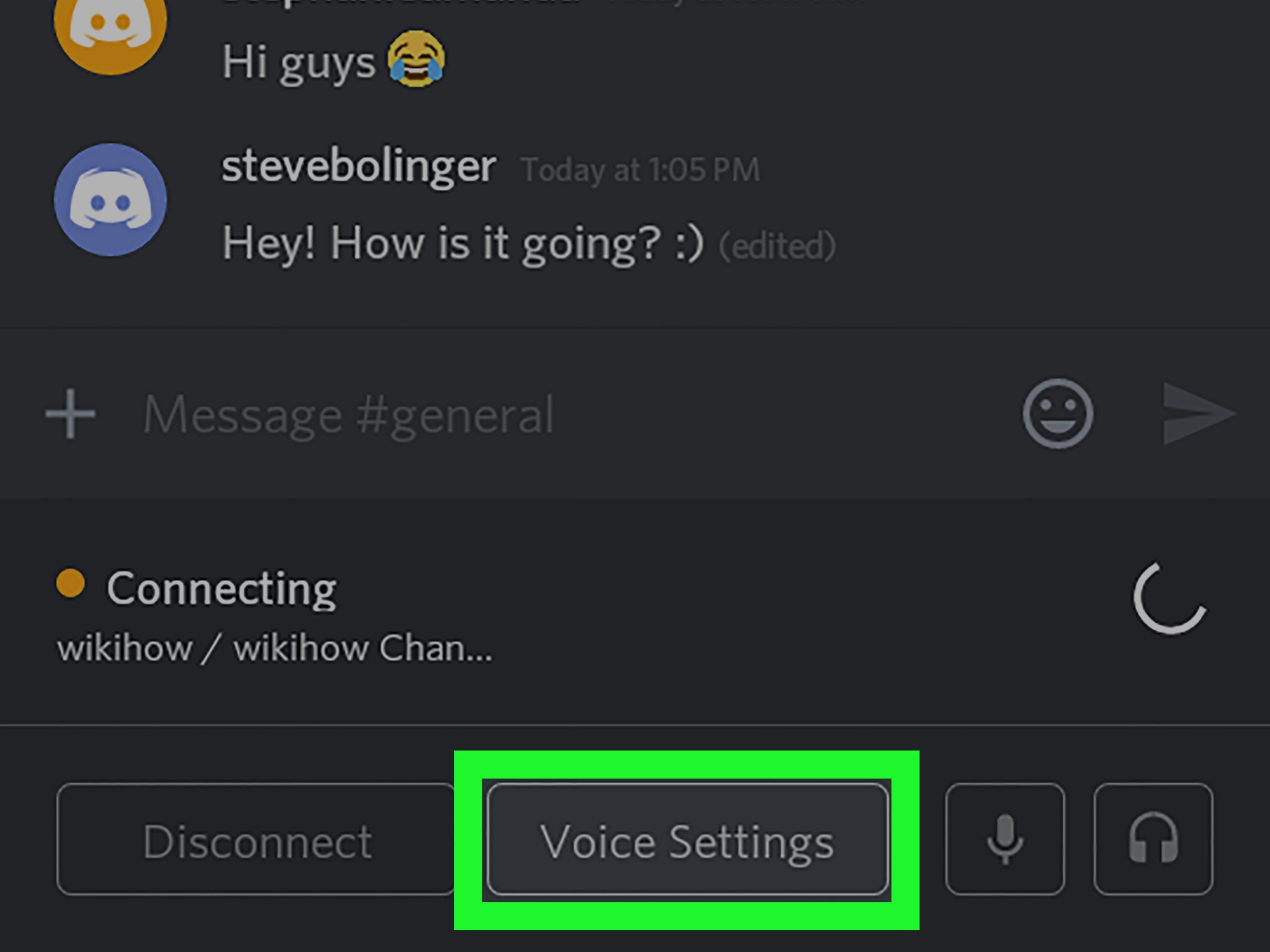 How to do Voice Chat on Discord